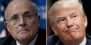 Giuliani and Trump